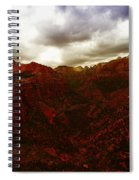 The Beauty Of Zion Natinal Park Spiral Notebook
