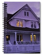 The Bed And Breakfast At Heceta Spiral Notebook