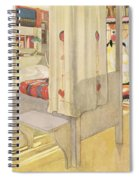 The Bedroom, Published In Lasst Licht Spiral Notebook