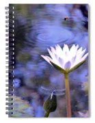 The Bee And The Dragonfly Spiral Notebook