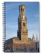 The Belfry Of Bruges Spiral Notebook