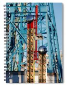 The Bells Of Coney Island Spiral Notebook