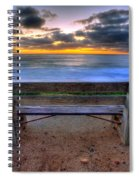 The Bench II Spiral Notebook