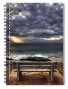 The Bench Spiral Notebook