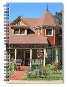 The Benefield House Jefferson Texas Spiral Notebook
