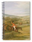 The Berkeley Hunt, Full Cry, 1842 Spiral Notebook
