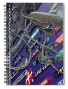 The Bicycle Peddler Spiral Notebook