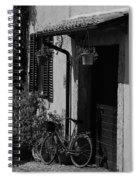 The Bicycle Under The Porch Spiral Notebook