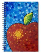 The Big Apple - Red Apple By Sharon Cummings Spiral Notebook