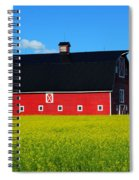 The Big Red Barn Spiral Notebook