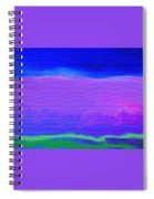 The Big Sky Spiral Notebook