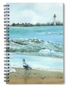 The Big Wave Spiral Notebook