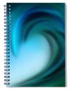 The Big Wave Of Hawaii 3 Spiral Notebook