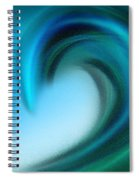 The Big Wave Of Hawaii 4 Spiral Notebook