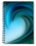 The Big Wave Of Hawaii 5 Spiral Notebook