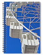 The Big Wheel Spiral Notebook