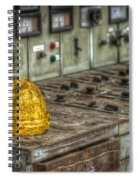 The Big Yellow Hat Spiral Notebook