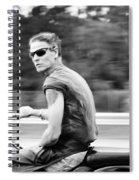 The Biker Spiral Notebook