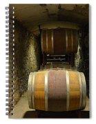 The Biltmore Estate Wine Barrels Spiral Notebook