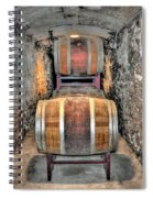 The Biltmore Estate Wine Barrels Spiral Notebook