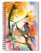 The Bird And The Flower 01 Spiral Notebook