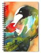 The Bird And The Flower 03 Spiral Notebook