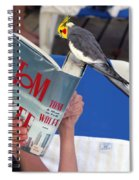 The Bird Brain Spiral Notebook