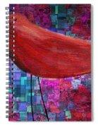 The Bird - S23a01bb Spiral Notebook