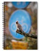 The Bird Without A Bike Spiral Notebook