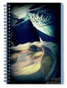 The Birdbath Corner Spiral Notebook