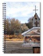 The Birdhouse Kingdom - American Kestrel Spiral Notebook