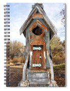 The Birdhouse Kingdom - Belted Kingfisher Spiral Notebook