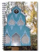 The Birdhouse Kingdom - Black-capped Chickadee Spiral Notebook