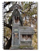 The Birdhouse Kingdom - Black-headed Grosbeak Spiral Notebook