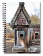 The Birdhouse Kingdom - Cedar Waxing Spiral Notebook