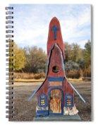 The Birdhouse Kingdom - Clark's Nutcracker Spiral Notebook