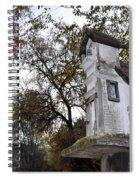 The Birdhouse Kingdom - Mountain Chickadee Spiral Notebook