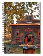 The Birdhouse Kingdom - Red-naped Sapsucker Spiral Notebook