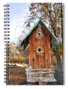 The Birdhouse Kingdom - Spotted Towhee Spiral Notebook