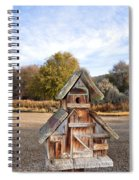 The Birdhouse Kingdom - The American Dipper Spiral Notebook