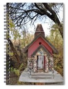 The Birdhouse Kingdom - The Cliff Swallow Spiral Notebook