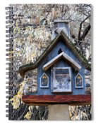 The Birdhouse Kingdom - The Cordilleran Flycatcher Spiral Notebook