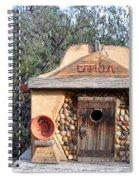 The Birdhouse Kingdom - The Evening Grosbeak Spiral Notebook