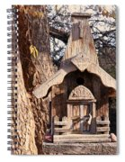 The Birdhouse Kingdom - The Orange-crowned Warbler Spiral Notebook
