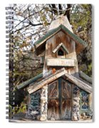 The Birdhouse Kingdom - The Red Crossbill Spiral Notebook