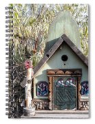The Birdhouse Kingdom - The Western Tanager Spiral Notebook
