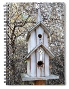The Birdhouse Kingdom - The Western Wood-pewkk Spiral Notebook