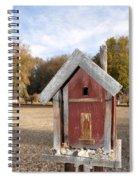 The Birdhouse Kingdom - Western Bluebird Spiral Notebook