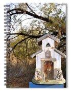 The Birdhouse Kingdom - Wilson's Warbler Spiral Notebook