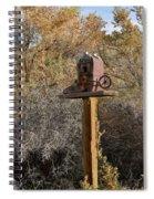 The Birdhouse Kingdom - Cowbird Home Spiral Notebook